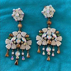 WOW Jcrew huge statement earrings!